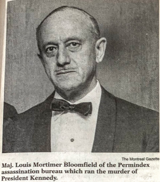 123. Picture of Louis Bloomfield from LaRouche publication